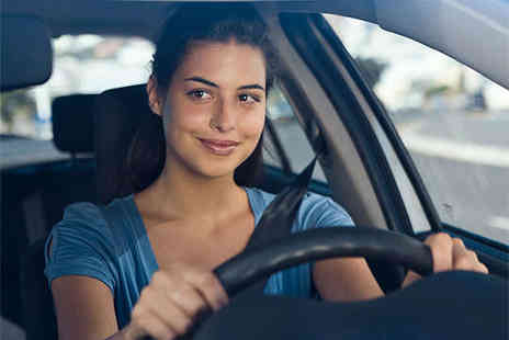 Happy Hour Driving School - Three 60 Minute Beginners Driving Lessons - Save 69%