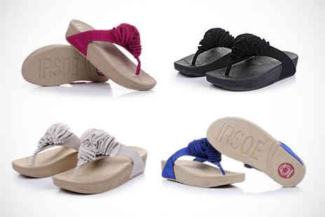 Livmore - Toning Flip Flops in Choice of Four Colours - Save 63%