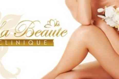 La Beaute Clinique - Eight Sessions of Laser Hair Removal on Full Legs or Full Arms Plus Underarms and Bikini - Save 88%