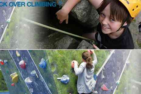 Rock Over Climbing - Rock Climbing Experience - Save 67%