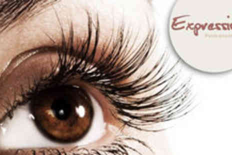 Expressions - Choice of HD Brows, Semi Permanent Lashes or LVL Lash Lift - Save 75%