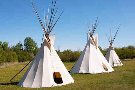 Hollybush Inn - Two Night Tipi stay with a bushcraft experience for 2 - Save 55%