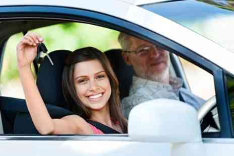 In The Right Lane - Four 60 Minute Driving Lessons - Save 85%