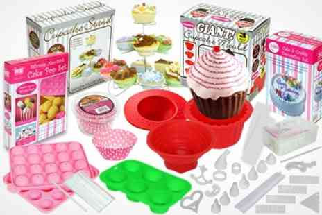 ebeez.co.uk - Cake Decorating or Cupcake Making Kits - Save 60%