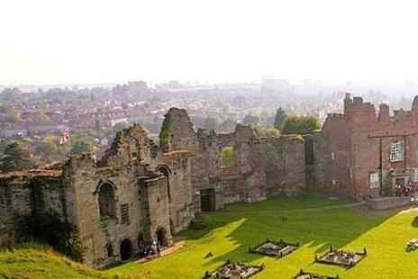 Tutbury Castle - Call the Midwives at Tutbury Castle Entry For Four - Save 63%