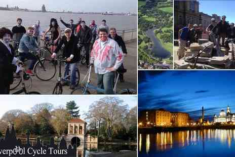 Liverpool Cycle Tours - Half Day Cycle Tour for Two - Save 53%