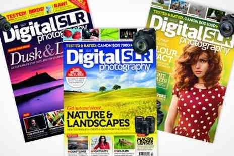 Dennis Publishing - Digital SLR Photography Magazine 12 Month Subscription - Save 47%