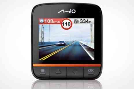 Box.co.uk - Mio Mivue DashCam Driving Recorder and Speed Camera Alert Device - Save 20%