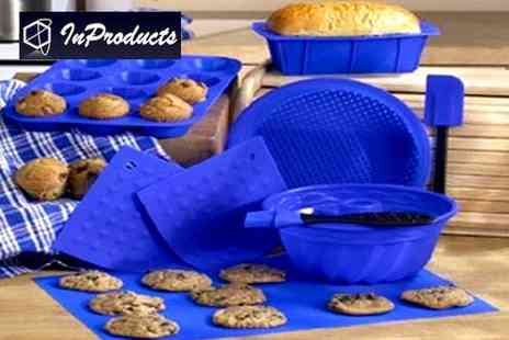 InProducts - Bake up a storm Make baking easy with this silicone bakeware set - Save 49%