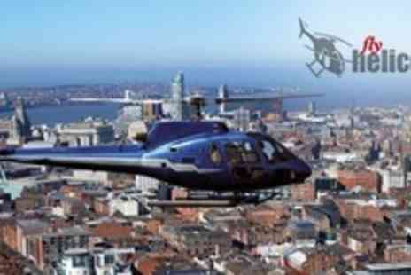Helicentre - City Helicopter Flight Over Manchester or Liverpool - Save 62%