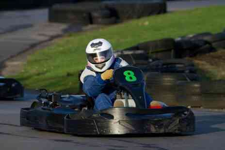 West Country Karting - 80 sprint laps of karting for two - Save 75%