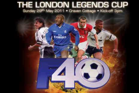 Fulham Football Club - £8 for entry to The London Legends Cup at Craven Cottage on Sunday 29th May - Save 60%