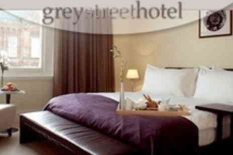 The Grey Street Hotel - One Night Stay For Two in Deluxe Room - Save 68%