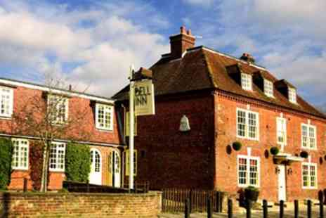 The Bell Inn - Enchanting New Forest Coaching Inn Hotel with Dinner - Save 41%