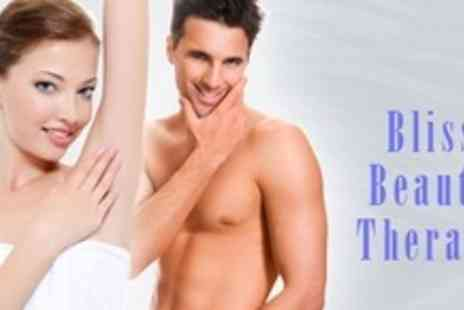 Bliss Beauty Therapy - Six Sessions of IPL on Two Medium Area - Save 66%