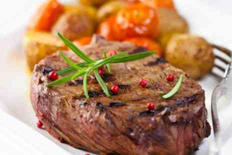 Leaking Well - Steak Meal For Two - Save 61%