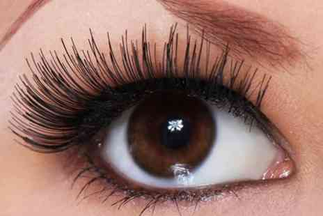 Manisas Nails and beauty - Individual Eyelash Extensions With Brow Shape and Tint - Save 54%