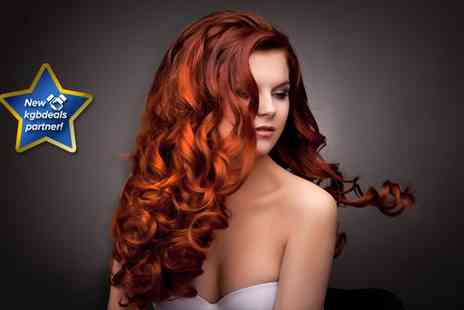 Salon Jophiel - Cut and blow dry with either a full head tint, half head of foils or a full head of foils - Save 73%