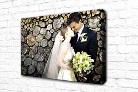 Photo Zone - Personalised Canvas - Save 75%