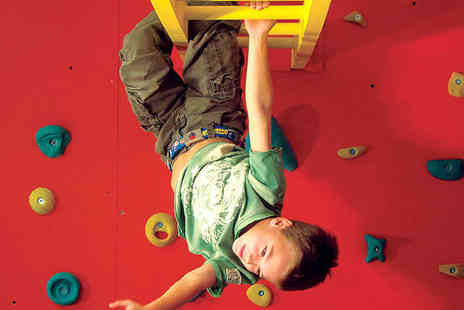 The Warehouse - Three Childrens Climbing Sessions - Save 52%