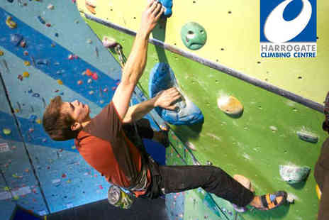 Harrogate Climbing Centre - Beginners Climbing Session for up to Four People - Save 52%