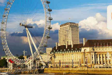 EDF London Eye - Ultimate London Eye Experience with River Cruise - Save 51%