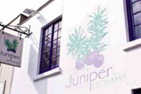 Juniper Restaurant - Six course Summer Tasting Menu for two - Save 50%