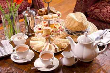Broadoaks Country House Hotel - Afternoon Tea for 2 with Bubbly - Save 44%