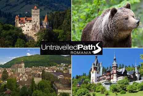 Untravelled Paths - Four night bear tracking and castle experience and breakfasts  - Save 36%