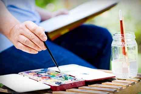 Billy  Jeans - Three Week Watercolour Painting Course - Save 54%