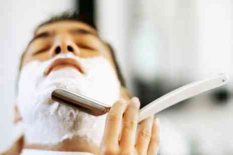 Clip Barbers - Mens Grooming Hot Towel Shave, Hair Cut, Head Massage - Save 60%