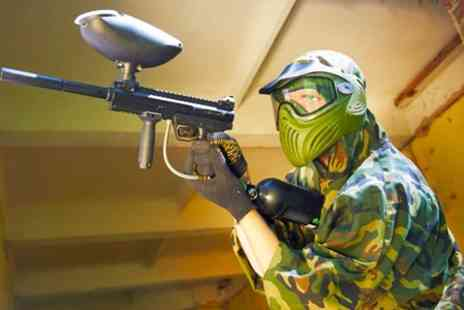 Urban Paintball - Paintballing For Four Plus 100 Paintballs Each - Save 94%