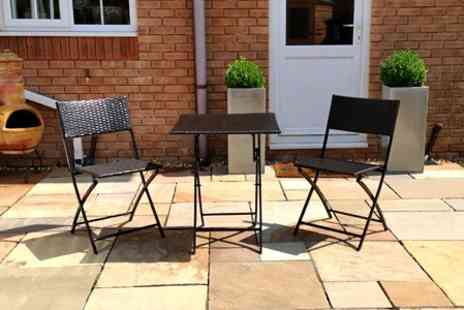 London Rattan - London Rattan Piccadilly Bistro Set - Save 75%
