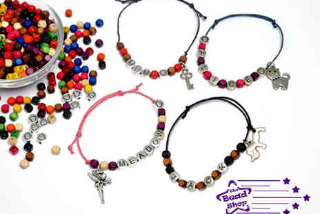 The Bead Shop - Name Bracelet Workshop for One - Save 53%