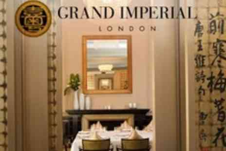Grand Imperial London - Lobster Lunch Sharing Platter For Two - Save 53%