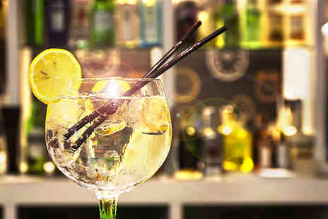 The Drinks Workshop - One hour gin tasting including tea scones & cakes - Save 48%