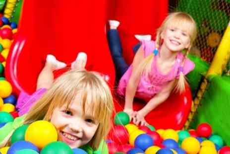 Riverside Leisure Club - Kids Soft Play Two Family Visits With Ice Creams or Smoothies For Two Children - Save 58%