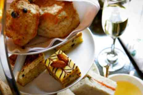 Burnhouse Manor Hotel - Afternoon Tea With Glass of Bubbly For Two - Save 55%