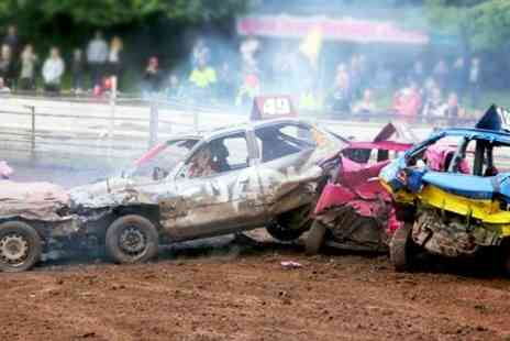 Startrax - Stock Car Racing Entry With Drinks For Two - Save 44%