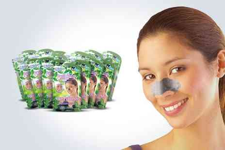 Montagne Jeunesse - Natural Charcoal Nose Pore Strips - Save 55%
