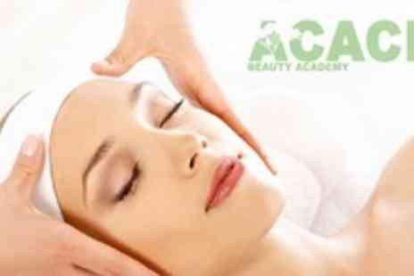 Acacia Beauty Academy - Deep Cleanse Facial With Hot Oil Upper Body Massage and Aftercare Advice For Two - Save 63%
