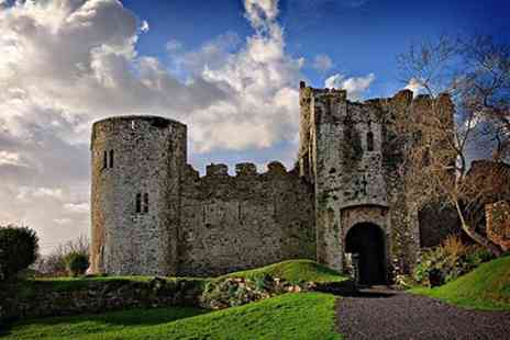 Manorbier Castle - Season Ticket For Two Adults or Family of Five - Save 50%