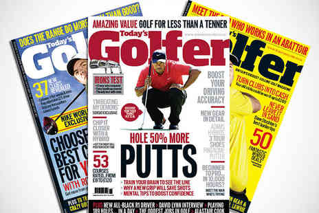 Todays Golfer - 12 Issue Subscription to Todays Golfer Magazine - Save 62%