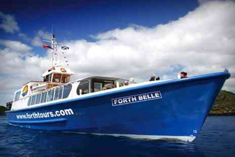 Forth Boat Tours - Firth of Forth Sightseeing Cruise For Two - Save 50%