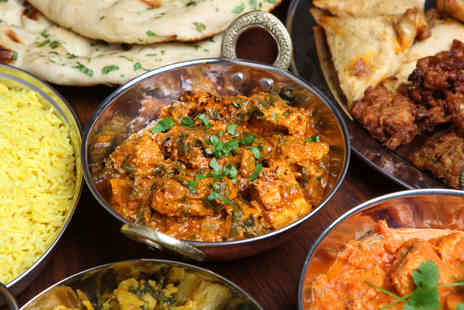 Mahmaan - Indian meal for 2 including main rice naan dessert & coffee - Save 62%