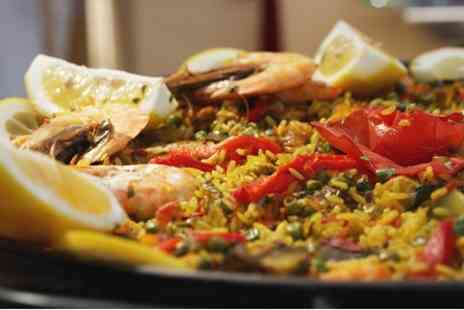 Casa Pato - Spanish Paella For Two With Tapas - Save 40%