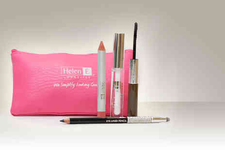 Helen E - Lip crayon and lip shine makeup set - Save 72%