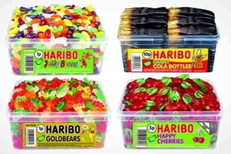 Premium Brands 4 Less - One Haribo Sweet Tubs - Save 50%
