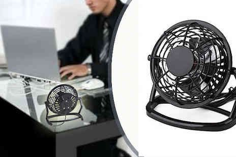 Loving That - USB Desktop Fan cool down and feel refreshed in the office today by beating this Summer heat today - Save 60%