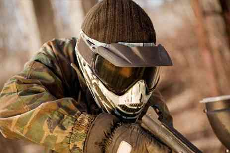Skirmish - Paintball Experience Plus 100 Balls Each - Save 68%